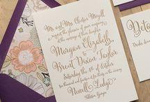Wedding Invitations / Wedding invitations and stationary inspiration