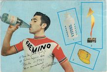 Cyclists Drinking Drinks