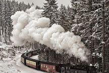 Vlaky a vláčky..