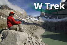 ω W Trek / The trails around the jagged mountain peaks in Torres del Paine form one of the world's most classic trekking routes. This active trip leads you through forest, mountain ridges and Patagonian steppe and allows you to relax with food & wine and good company in the evenings.