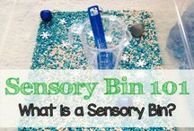 Sensory Activities for Kids / Sensory bin ideas + activities curious little ones will love.