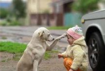 """Kids and Pets / #cute and #funny #pictures of #kids & #pets together.  Important !!! For kids only pictures, pls follow our other board called 'kids"""""""