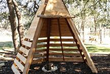 teepee for chooks