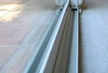Clean sliding door and window rails