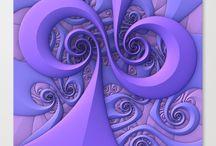 Three Dimensional Fractal Art Created with Mandelbulb 3D