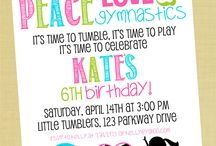 JK GymnasticParty / by Janie Register