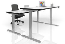 #WorkFit / Height-Adjustable Desks and Tables so you can sit and stand when you work!