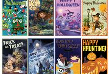 Halloween Printable Cards / Send Some Halloween Cheer to Your Favorite Little Ghost or Goblin!
