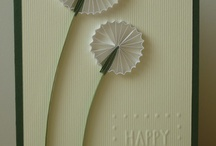 *Quilled cards