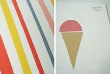 Flat, collage, minimalist
