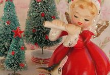 Vintage Christmas / Vintage is a word that conjures up a Christmas by gone, it uses elements that are traditional, yet simple.