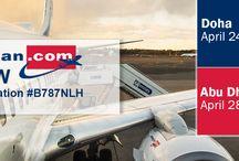 Norwegian Long Haul and Rishworth Aviation B787 Roadshow / Doha   Dubai   Abu Dhabi   Istanbul