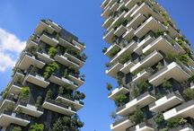 vertical gardens on buildings