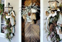 Christmas Front Entrance Doors Lorraine Loves