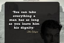 Motivational Quotes / by John Wayne / by John Wayne