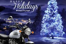 #XmasTriumph 2013 / A Christmas postcards from Triumph Motorcycles Italia