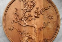 Chinese carving wood