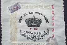 To print on fabric / Stampe vintage su tessuto, pronte da applicare o incorniciare