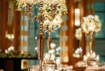 Wedding Center Pieces With Candles