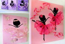Ballerina decor.