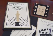 Oscar Themed Party / Get ready to walk the red carpet in style with this Oscar themed party.