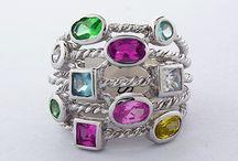 Women's Sterling Silver Rings / Women's Sterling Silver Rings