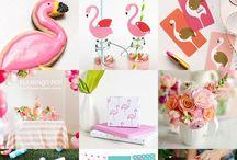 flamingo party decorations