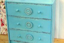 distressed,painted furniture/bútorfelújítás