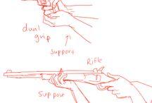 рука с предметами