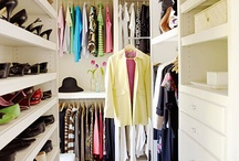 C L O S E T S / The dreamiest closets, ever.