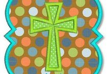 Applique - Crosses / by Ginger Collins