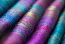 Sheepovnik art of yarn / handspun yarn, weaving, wool, rolags, handspin punies, art yarn