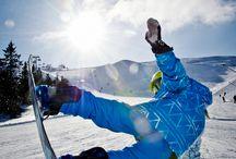 Snow boarden