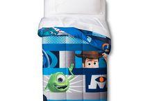 Pixar Film Strip Blue Bedding