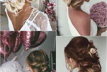 haarfriesur Brautkleid
