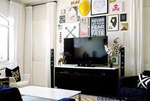 LOFT (FAMILY ROOM). / Inspiration for a kid friendly, casual, stylish family room.