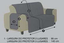 Capas de sofá e cadeiras