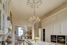 Kitchen With Our Chandeliers