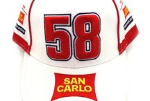 Marco Simoncelli Merchandise / The items all MS58 fans only dream to own, check them all out here available from the All Stars Direct site. Whether your just kickin' back watching MotoGP at home on a Sunday or if your at the track races your going to love these to support your favourite rider Marco Simoncelli. T-shirts, Hoodies, Caps, Beanies and Acessories you name if we've got it!