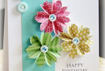 Created cards....flowers / by Rhonda Potts