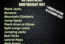 Bodyweight & At-Home Workouts / Workouts that require little or no equipment and can be done anywhere.