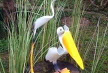 my PVC birds