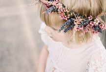 Rebecca and Tim / August 2014 - .  Feminine, retro, vintage, natural and informal using wildflowers.