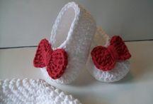 zapatitos crochet...