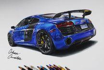 My Car Drawings