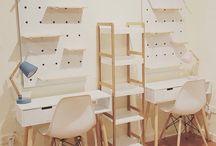 Boy Study Area