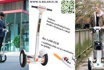 X-Balance.sk / Novinky v osobnej preprave, relaxe a zábave