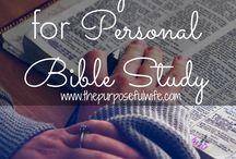 Bible Study - Morning Time