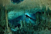 Diving - Salt, Fresh, caves or holes.