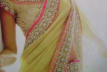 For sarees